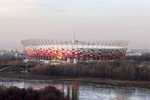 National Stadium Warsaw - Football Arena in Poland