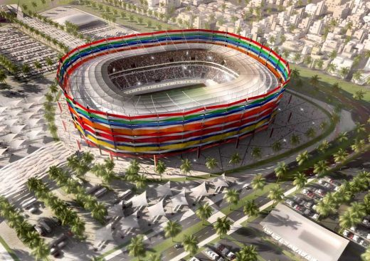 Qatar World Cup Stadiums FIFA Stadium Al Garafa
