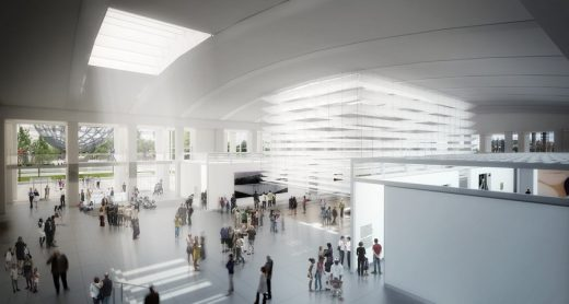 Queens Museum of Art Expansion New York Building