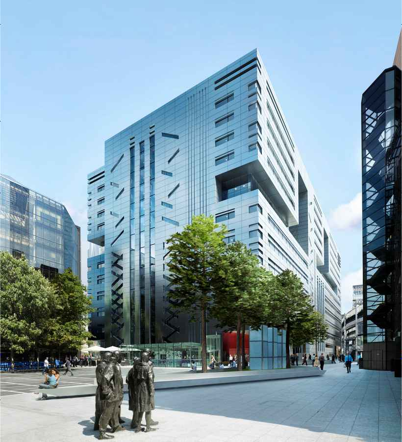 5 Broadgate Development, UBS London