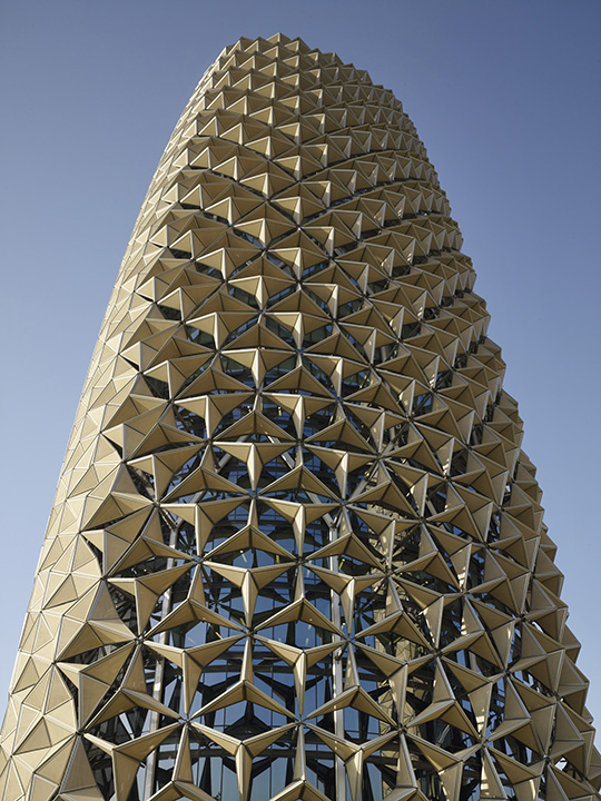 Al Bahar Towers Abu Dhabi Buildings E Architect