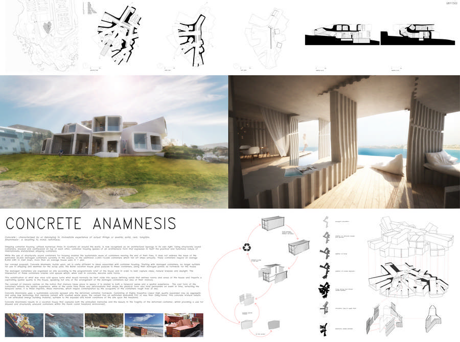Container vacation house competition 3rd prize 1 e architect for Architecture house design competitions