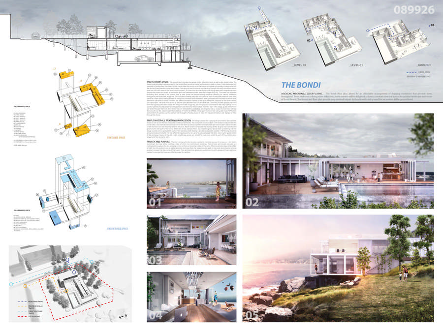 Container vacation house competition runnerup 2 e architect for Architecture house design competitions