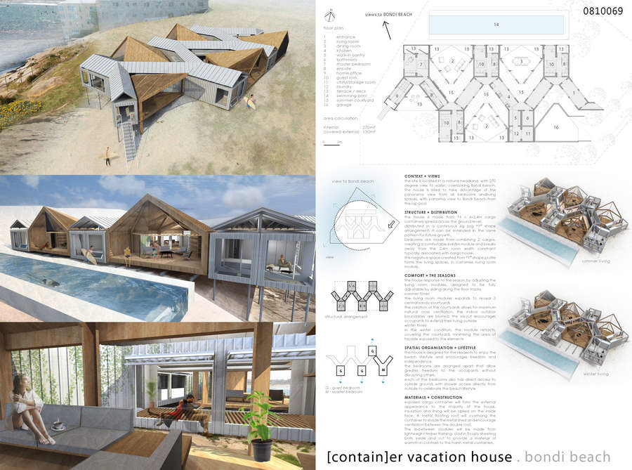 container vacation house competition runnerup 4 e architect