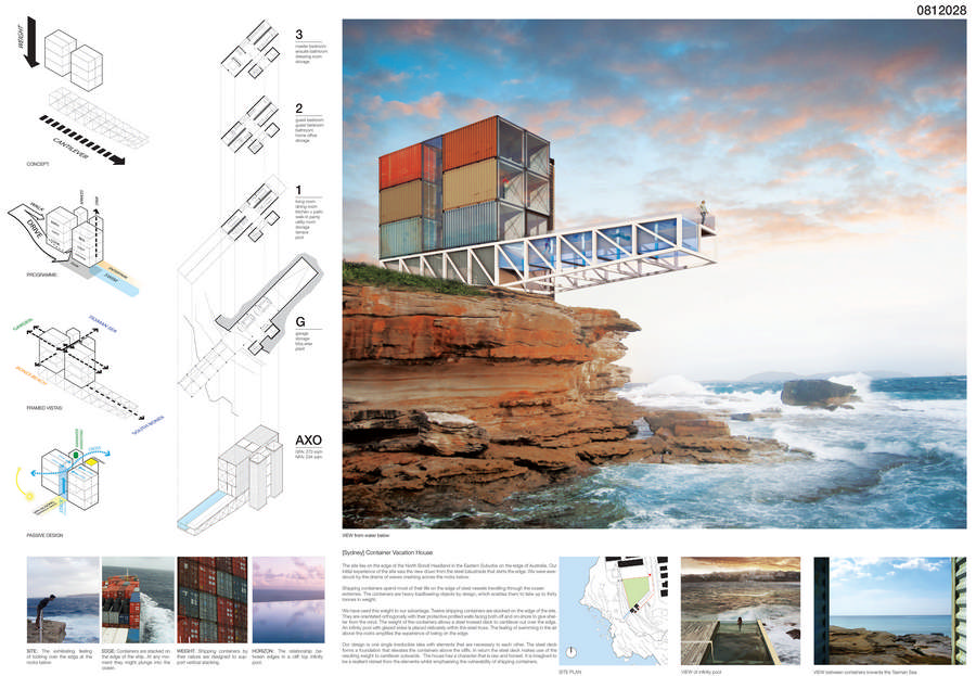 Container Vacation House Competition Runnerup 7 E Architect