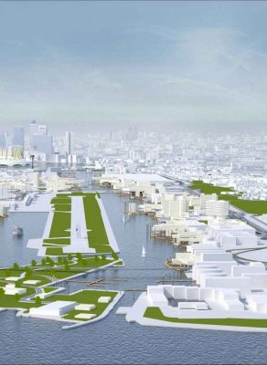 Royal Docks London Contest design by Heatherwick Studio