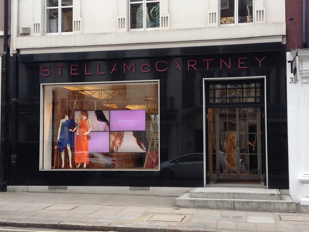 Bildresultat för stella mccartney shop in Bond Street in London