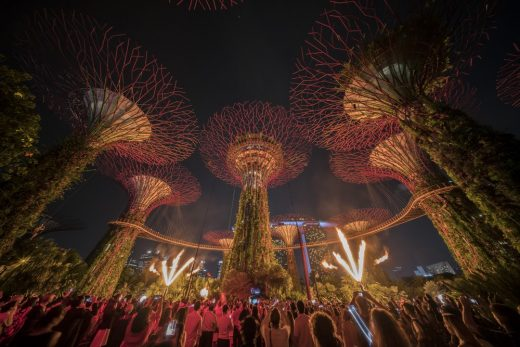 Supertree Grove of Singapore's Gardens by the Bay