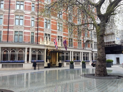 The Connaught Hotel Mayfair buildings