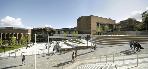 University of Exeter Forum Project Devon building