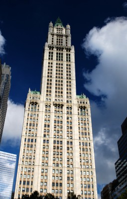 Woolworth Building by Tectonic Photo