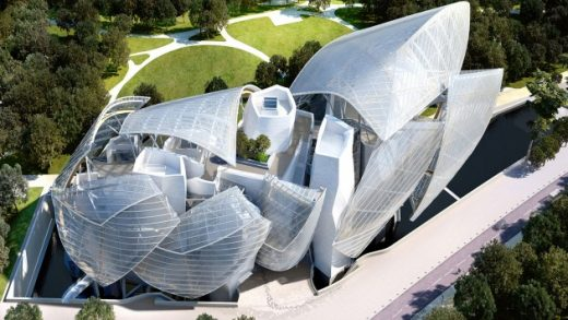 Louis Vuitton Foundation Building Paris
