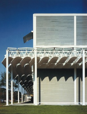Renzo Piano building at the Menil Collection