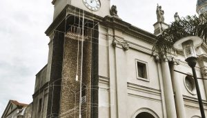 Montevideo Metropolitan Cathedral South Tower Rehabilitation