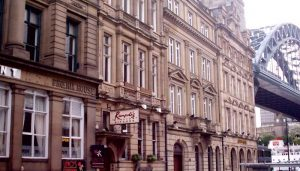 Newcastle Quayside building
