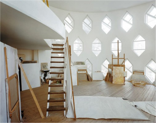 Melnikov house - exhibition at Pitzhanger Manor Walpole Park