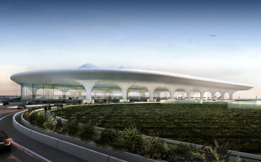 Mumbai t2 airport terminal india building e architect for International architectural firms in mumbai