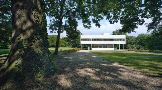 Villa Savoye, Poissy - exhibition at Pitzhanger Manor Walpole Park