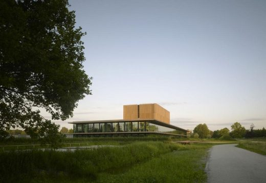 Netherlands Institute of Ecology Building by Claus en Kaan Architecten