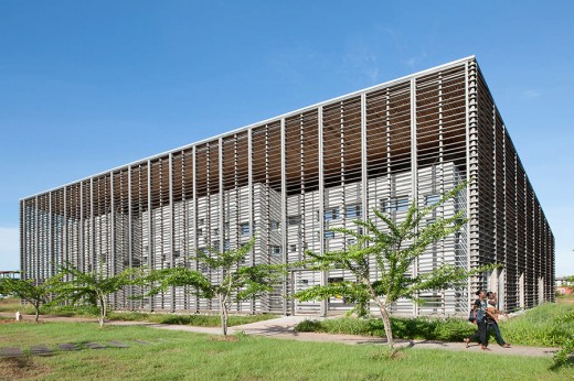 New University Library in Cayenne