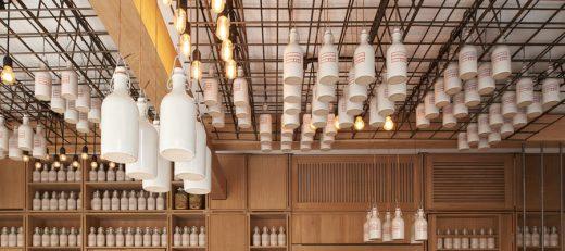 Gamsei Cocktail Bar, Munich interior, Bavaria