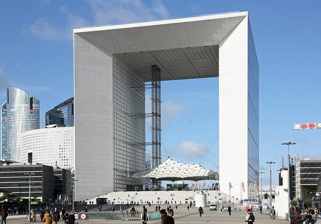 La Grande Arche de La Défense design by Johan Otto von Spreckelsen Architect