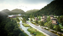 National Research Center for Endangered Species Korea building design