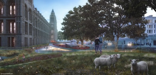 Natural History Museum Grounds Design 4