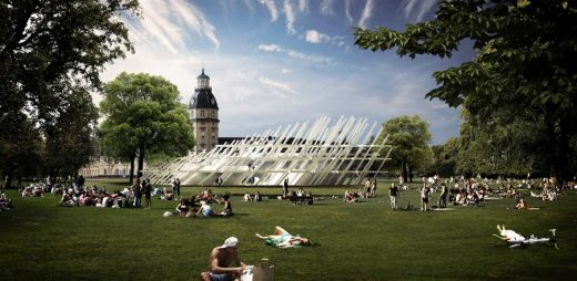 KA2015 - Pavilion for the City Jubilee, Karlsruhe