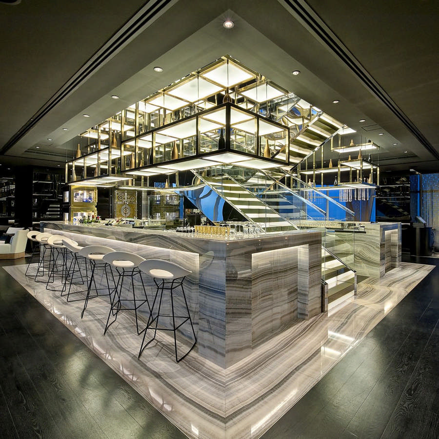 Vault bar uae e architect