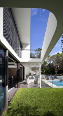 New South Wales Residential Development design by Bruce Stafford Architects