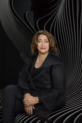 Zaha Hadid Gold Winner