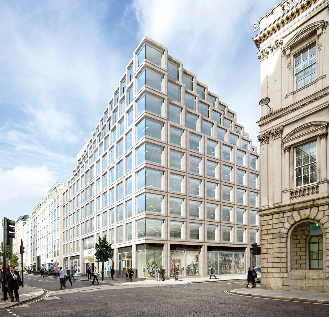 100 Cheapside London Office Building