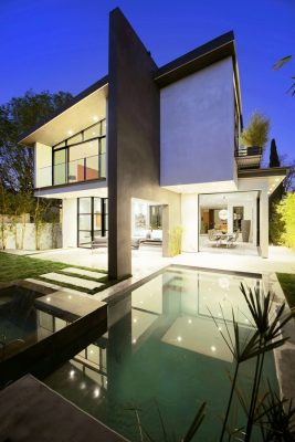 355 Mansfield, Los Angeles house