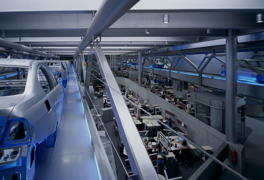 Bmw Central Building Interior 3x E Architect