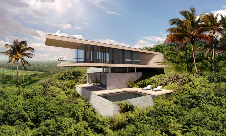 Bali house concept design e architect for House concept design