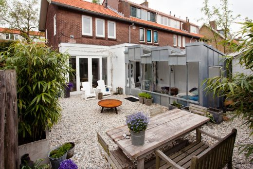Contemporary Extension for Haarlem house renovation