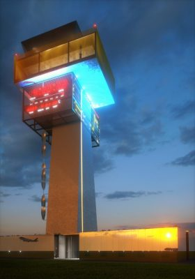 New Control Tower Airport Cluj 1