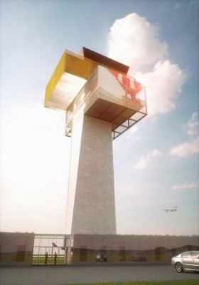 New Control Tower Airport Cluj 2