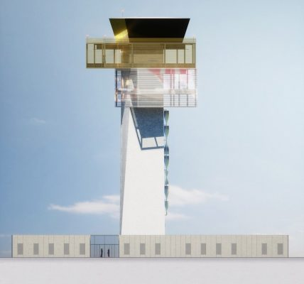New Control Tower Airport, Cluj-Napoca Romania