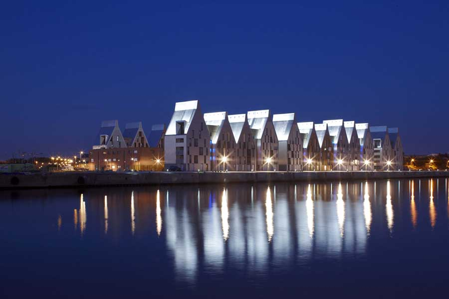 Grand Large Housing Dunkirk Dunkerque Zac E Architect