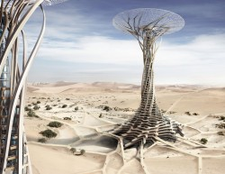 Sand Babel: Solar-Powered 3D Printed Tower