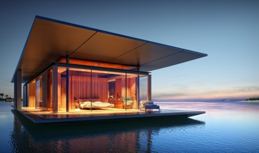 Floating House Exterior 1