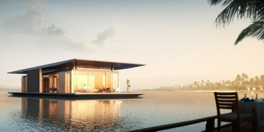 Floating House Exterior 2