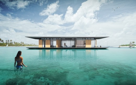 Floating House Exterior 3