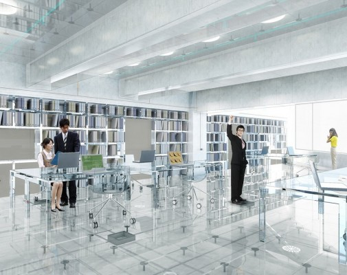 Glass Office By Mvrdv In Hong Kong E Architect