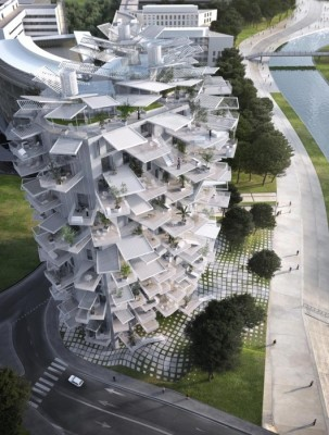 Housing Tower for Montpellier