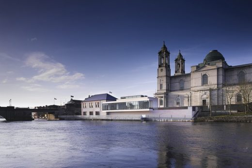 Athlone Art Gallery, Westmeath building on the river
