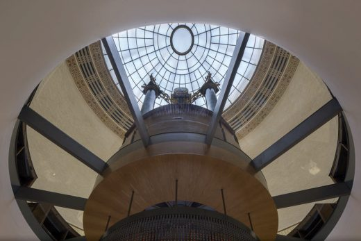 Manchester Central Library building dome