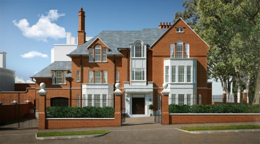 New Build Kensington Palace Gardens 1